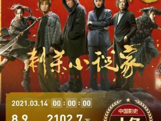 《刺杀小说家》票房破10亿,中国影史第83部,杨幂功劳太大了 电影,杨幂,雷佳音,刺杀小说家