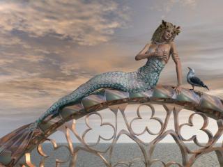 梦见美人鱼是怎么回事?梦见美人鱼好不好? 鬼神,美人鱼,探索