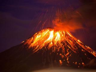 梦到活火山喷发了寓意着什么?女子梦到火山喷发寓意好不好? 自然,火山喷发,活火山
