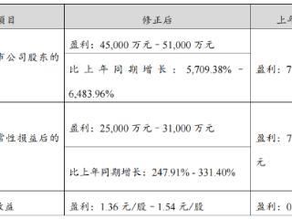 产销量同比增长,赣锋锂业一季度净利润预计大增 赣锋锂业,002460.SZ,业绩预告