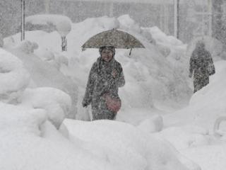 梦到下大雪意味着什么?女人梦见一场大雪寓意好不好 自然,下大雪,厚厚的雪