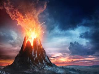 梦到火山预兆着什么,梦到火山到底好不好 自然,火山,活火山