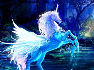 梦里面自己骑在飞马上,这个梦是否代表自己走运 鬼神,梦到了飞马