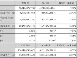 2020年净赚近56亿!宁德时代拟190亿投资产业链优质公司 宁德时代,300750.SZ,年报