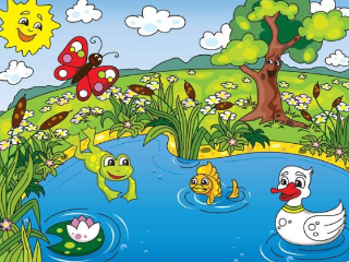 做梦梦到自己掉到池塘里,这个梦是不是不吉利 自然,梦到池塘,梦到掉进池塘