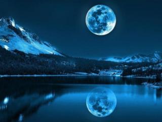 梦境中月亮非常的亮,晚上都是月光这是什么意思 自然,梦到月夜,梦到月亮