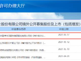 物管公司阳光智博递交境外上市申请,或香港IPO上市 阳光智博,阳光城,港股IPO,新股前瞻
