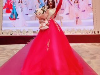 2020国际联合国小姐MISS香港亚军,白雪女王欧阳婉璐 2020国际