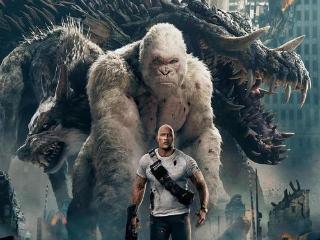 李大猛的电影世界--推荐观看--《狂暴巨兽》--白色的金刚 狂暴巨兽