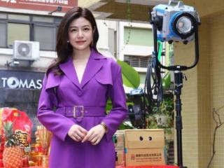 陈妍希的紫色系穿搭,你get到了吗? 陈妍希