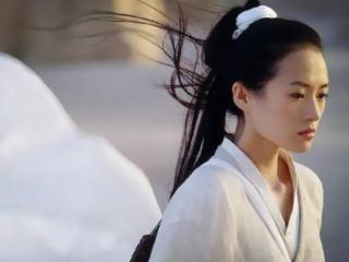 章子怡一炮而红,获得百花奖最佳女主角 章子怡