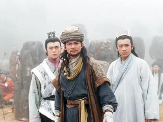 压轴来了,是剧中饰演超级大boss——辽国皇帝耶律洪基的 天龙八部