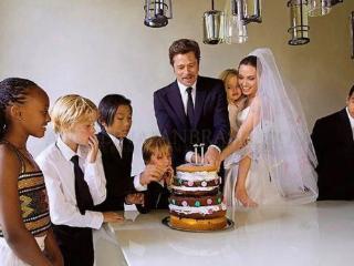 皮特获6个孩子抚养权,家人盼与安妮斯顿复合?朱莉离婚后正回血 皮特获