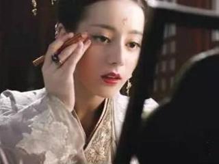 古装剧女子描眉的画面:个个都美得惊人,但我只服孙俪娘娘! 迪丽热巴