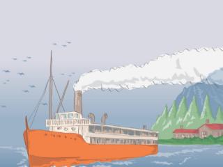 梦到汽船预兆着什么,梦到汽船到底好不好 物品,船,梦到汽船