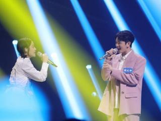 《谁是宝藏歌手》第八期李莎旻子甜蜜演绎《致姗姗来迟的你》 刘柏辛