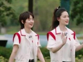 《跑男9》谭松韵在逃公主吃播秀,和蔡徐坤莫名配一脸! 谭松韵