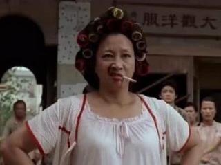 周星驰《功夫》中的包租婆元秋,年轻时五官精致,简直就是女神了 包租婆