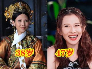 """""""甄嬛传""""演员年龄,蔡少芬47岁不显老,而她当时是未成年! 蔡少芬"""