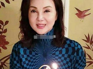 台湾女演员谢玲玲生日照曝光,颜值依旧看不出60多岁的样子 貌女富豪