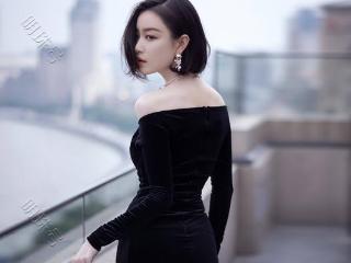 倪妮最新红毯造型,身穿黑色丝绒鱼尾裙尽显身材 活动,倪妮造型图,倪妮红毯照,倪妮活动照