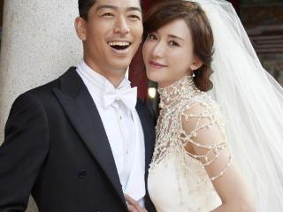 林志玲黑泽良平婚礼现场照片曝光,林爸爸的举动很暖心 林志玲