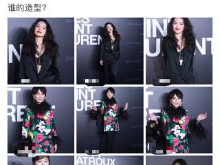 55岁刘嘉玲现身活动,身穿大红大绿花衣引人瞩目 刘嘉玲