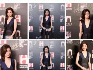 时尚达人晒贾静雯出席活动照片,穿着打扮和气场都得到了五星好评 贾静雯