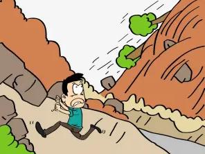 梦见山体滑坡顺利逃脱什么意思?梦见山体滑坡顺利逃脱什么情况? 自然,梦见山体滑坡顺利逃脱,梦见山体滑什么意思