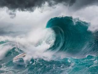 梦见海啸好不好?怀孕的人梦见海啸有什么寓意? 自然,梦见海啸的预兆,梦见突如其来的巨浪