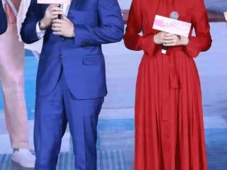高圆圆与王耀庆同台宣传,一个知性优雅一个风趣十足  电视,《完美伴侣》,高圆圆王耀庆合作新剧,高圆圆近况