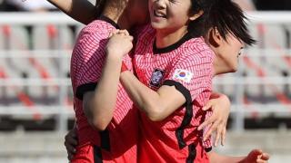 克韩!中国女足2比1韩国,李玟娥晃倒恒大旧将却美不过王霜进球
