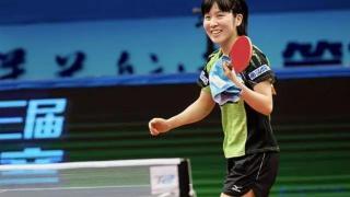日本乒乓球队一个女生打败中国队之后说了一句:不过如此,是谁?
