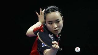 日本20岁少女凭借一己之力改变中国女乒格局,刘诗雯或梦碎大满贯