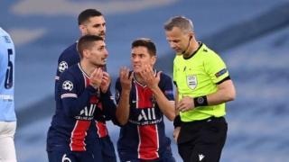 巴黎0-2揪出最水主帅!进一次欧冠决赛,就飘了,如今被打回原形