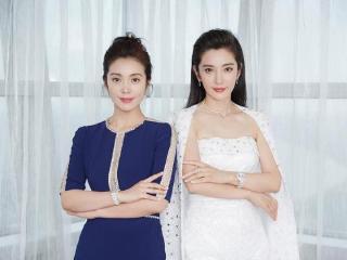 李冰冰携妹妹出席活动,虽然两人长得挺像的,但妹妹穿得太成熟了