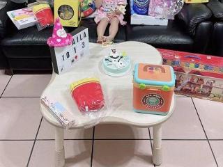 江宏杰为女儿庆生,与福原爱离婚后更宠女儿,爱拉酱身边摆满玩具