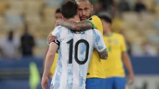 阿根廷球迷沸腾了,梅西:离冠军那么近