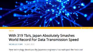 319tbit/s的网速到底有多快