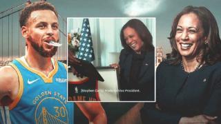 NBA众球星庆拜登就职 副总统将在办公室挂勇士球衣