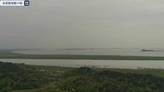 水位持续上涨!受近期降雨影响 鄱阳湖正式结束枯水期