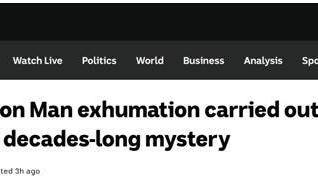 """73年前悬案重回视线!澳媒:萨莫顿海滩""""神秘男尸""""开启挖掘开棺工作"""