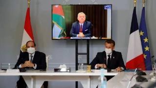 法国、埃及和约旦领导人呼吁巴以双方立即就停火达成一致