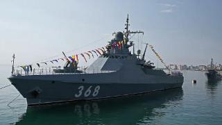 """俄罗斯黑海舰队""""瓦西里·贝科夫""""号巡逻舰已开赴地中海执行任务"""