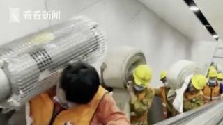 视频|15号线在建轨道区间进水 公交接驳有序疏散乘客
