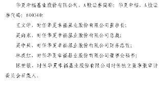 未及时披露业绩预告,华夏幸福及王文学等五名高管被监管警示