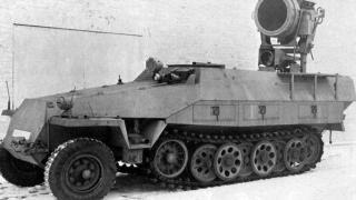 神秘的苏军117工程:自行红外探照灯,夜间作战的神器!