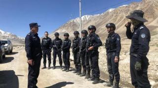 雪域高原锤炼钢铁队伍 喀什特警再踏崭新征途