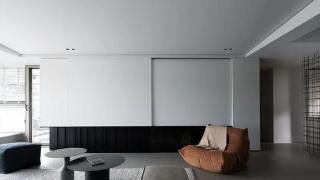 微水泥+斜面吊顶,极简和中式混搭,怎么越看越高级?